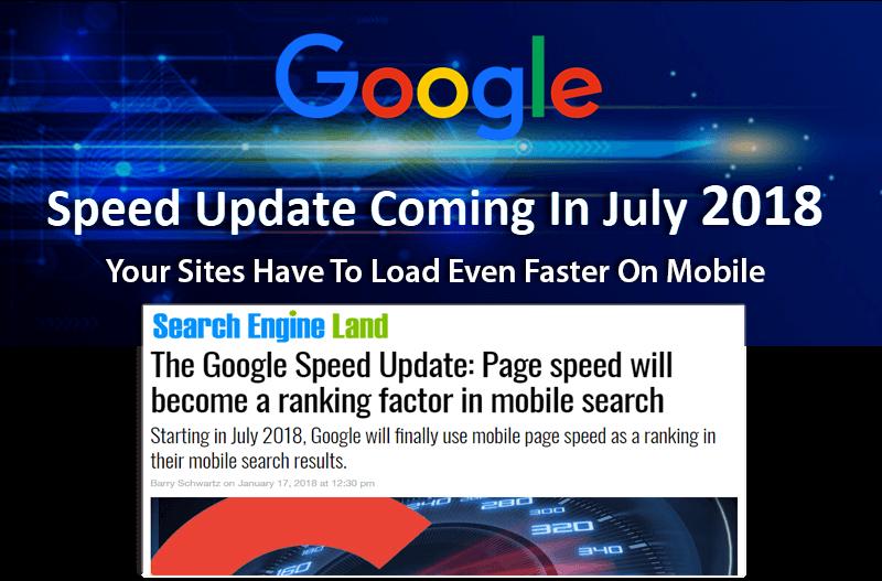 Image - Google Speed Update 2018